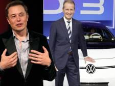 'Elon Musk wilde Volkswagen-topman Diess als opvolger'