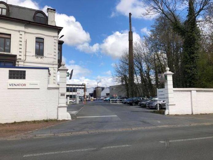 De firma Venator Pigments  bevindt zich in Comines (Frankrijk), vlak over de grens met Wervicq-Sud