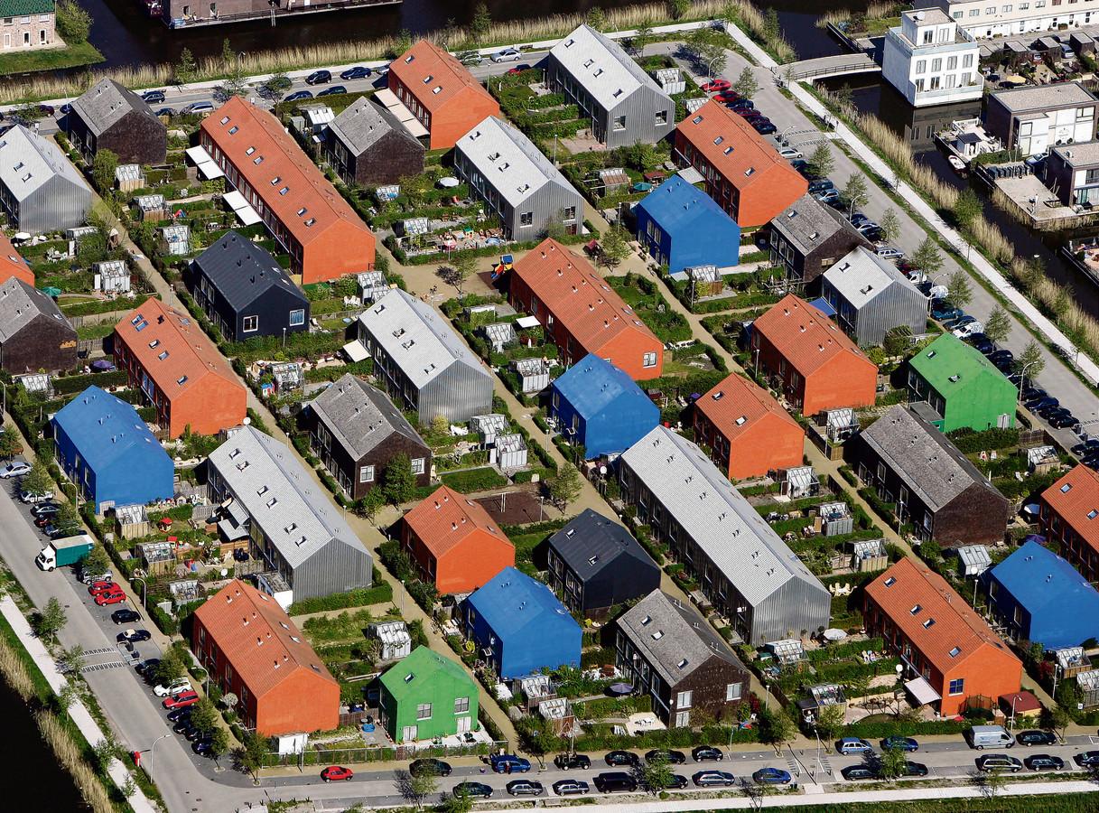Nieuwbouwwijk Ypenburg in Den Haag. In dergelijke grote wijken zijn vaak nog genoeg parkeerplekken.