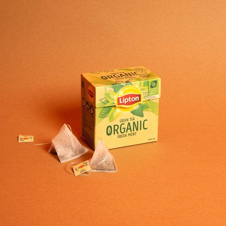 Lipton Green Tea Organic Fresh Mint Beeld Studio V
