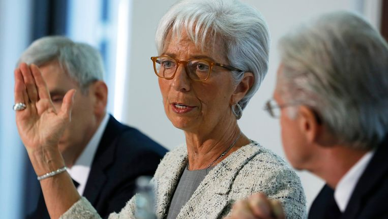 IMF-topvrouw Christine Lagarde. Beeld EPA