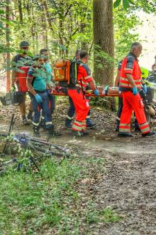 Mountainbikester raakt gewond na val op mountainbikeroute in Zeist