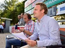 Burgemeester Oudewater eenmalig aan de slag als voetbalcommentator