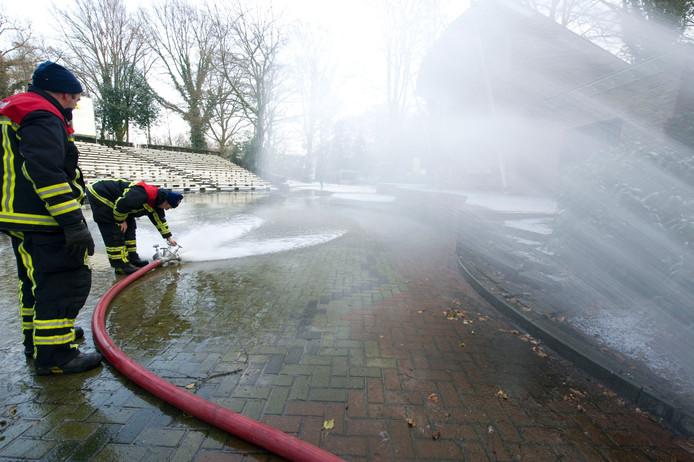 Vooral in het buitengebied van Berkelland is onvoldoende bluswater beschikbaar voor de brandweer.