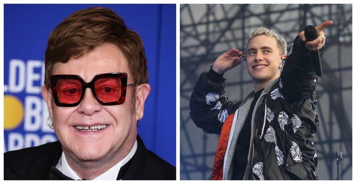 Elton John en Olly Alexander