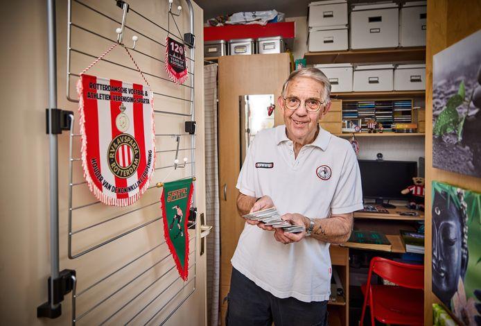 John van Deursen is al 65 jaar lid van Sparta.