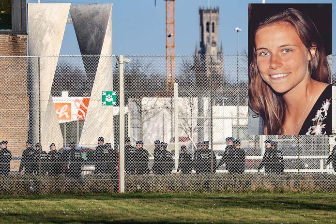 Morgane werd woensdag 3,5 uur lang gegijzeld in de Brugse gevangenis.