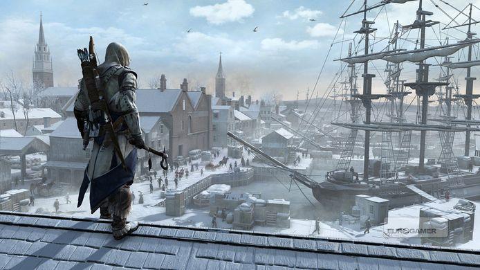 Een vroege screenshot van 'Assassin's Creed III'