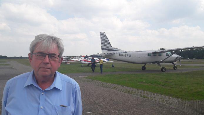 Jan Voeten, directeur-havenmeester van Breda International Airport.