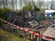 Oorzaak brand op camping de Vinkenkamp in Lieren blijft voor altijd een mysterie