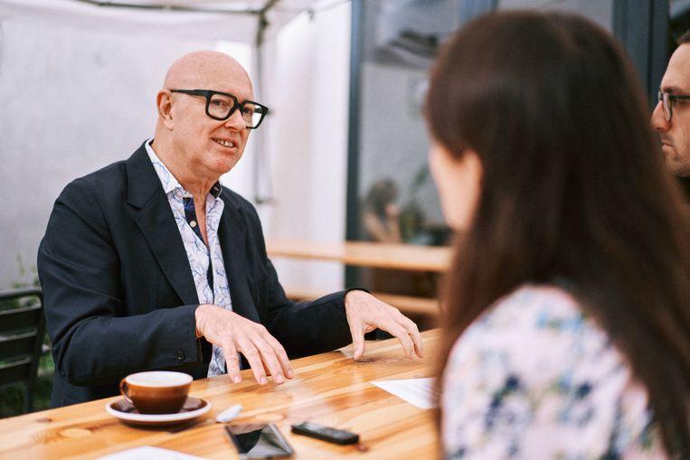 Frank Van Massenhove: 'Met 10 procent van de bazen kun je niks aanvangen, omdat het experts zijn. De slimste de baas maken, is het domste wat je kunt doen.' Beeld Thomas Sweertvaegher
