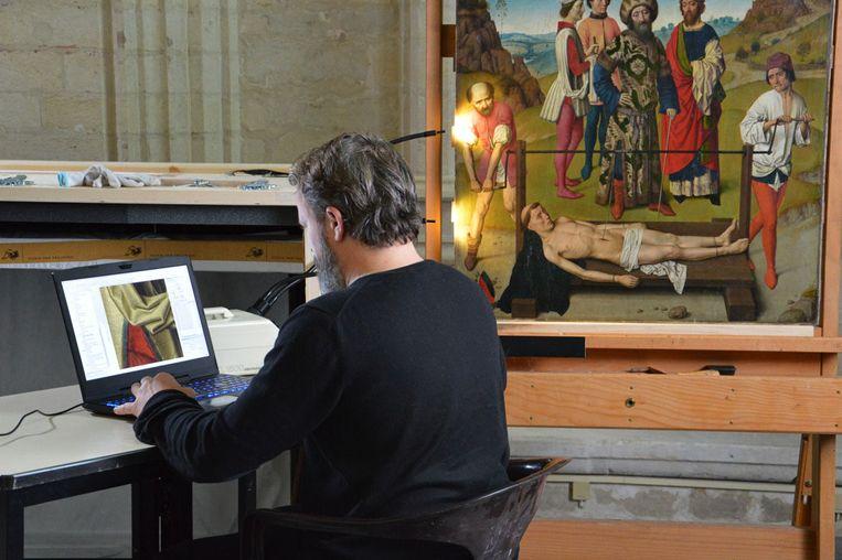 De restauratie van een Vlaams topstuk van Dieric Bouts in de originele omgeving. Bouts betekent voor Leuven wat Van Eyck betekent voor Gent.