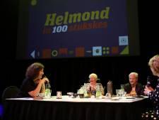 Minister Van Engelshoven op bezoek bij 'Helmond in 100 stukskes' om te luisteren naar de verhalen achter de afgedankte rommel