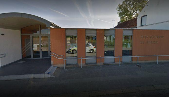 Bibliotheekfiliaal De Arend in Koolkerke.