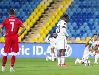 Opvallend: Michy Batshuayi knielt niet voor aftrap van Wit-Rusland - België