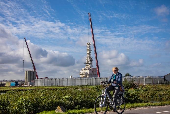 In Naaldwijk wordt al geboord naar aardwarmte.