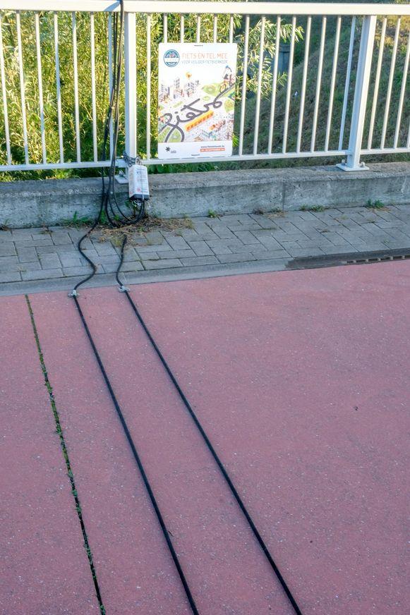 Zo ziet een fietstelpunt eruit (in Machelen)