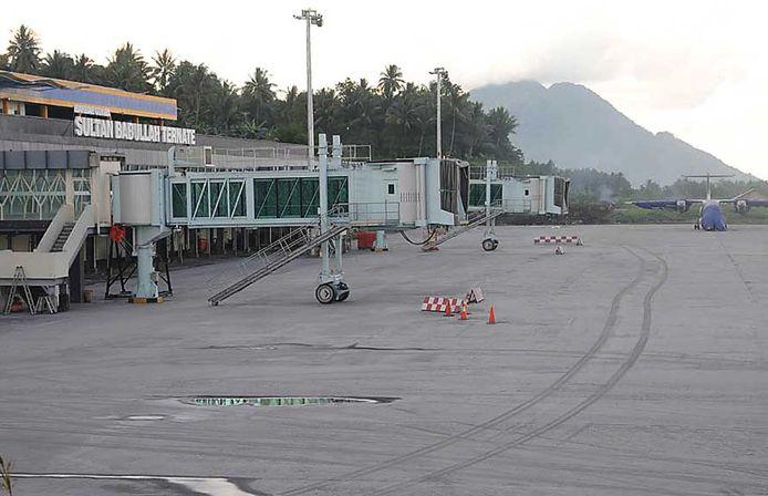 Tenate Airport in Indonesië.