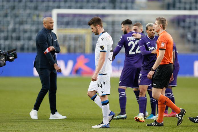 Anderlecht n'avait plus battu le Club de Bruges depuis près de trois ans.