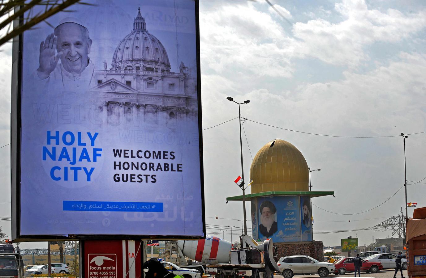 Le pape François est attendu vendredi à Bagdad et dimanche à Erbil (Kurdistan irakien), où il doit célébrer une messe dans un stade. Il doit aussi passer par Mossoul, ex-bastion de l'EI dans le nord où sont déployées des factions du Hachd al-Chaabi.