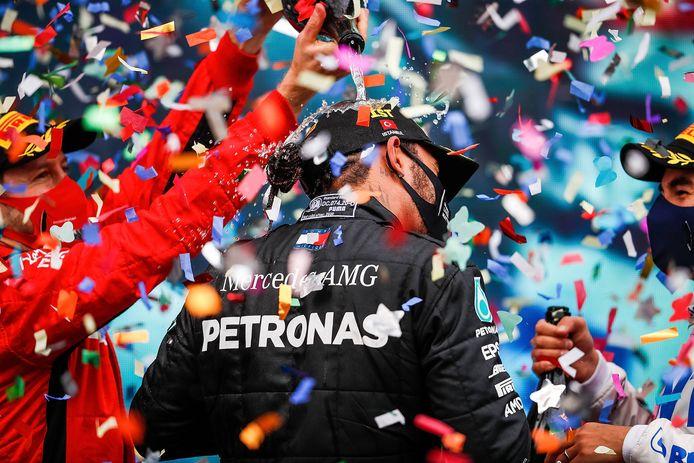 Komende jaren moet blijken of Hamilton de achtse wereldtitel kan behalen en zo alleen op plek 1 zal komen.