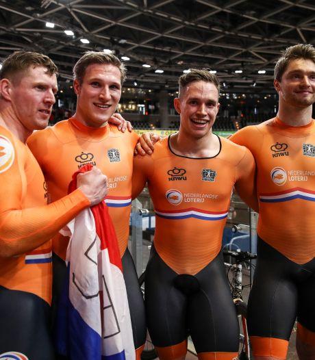 Baanwielrenners met zelfde samenstelling op Spelen als bij gouden WK-race in Berlijn