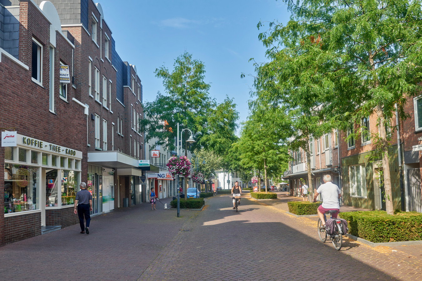 Straten in Veghel Centrum: Hoofdstraat. Fotograaf: Van Assendelft/Jeroen Appels