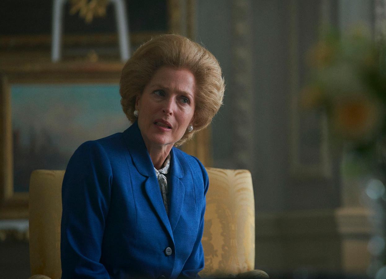 Gillian Anderson won een prijs voor haar rol als Margaret Thatcher.