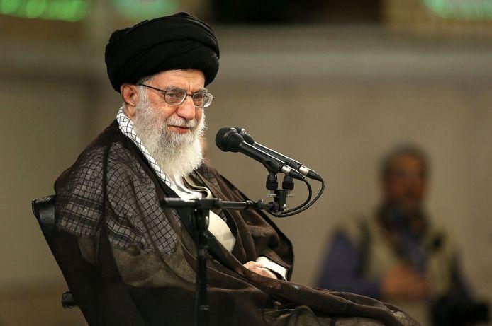 De Iraanse grootayatollah Ali Khamenei, leider van de Islamitische Republiek.