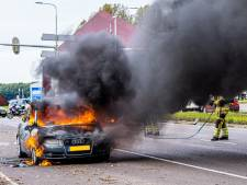 Testrit eindigt met uitgebrande Audi; koop gaat niet door