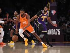 Heibel bij LA Lakers: onderlinge ruzie tijdens wéér een nederlaag