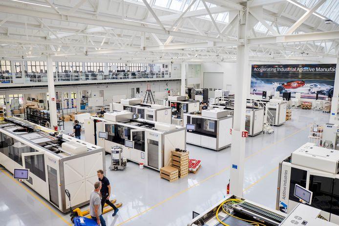 Vestiging van Additive Industries op Strijp-T in Eindhoven.