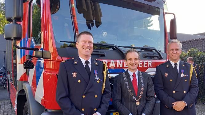 Driedubbel feest voor Groesbeekse brandweer