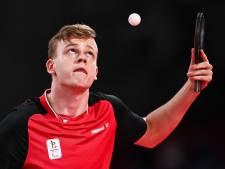 Laurens Devos décroche l'or pour la Belgique en tennis de table