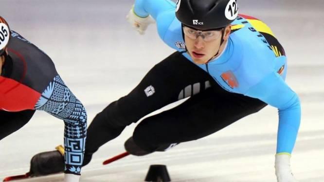 """Rino Vanhooren staat voor zijn eerste WK Shorttrack: """"Ik ben trots dat ik hier sta en wil mijn beste kant laten zien"""""""
