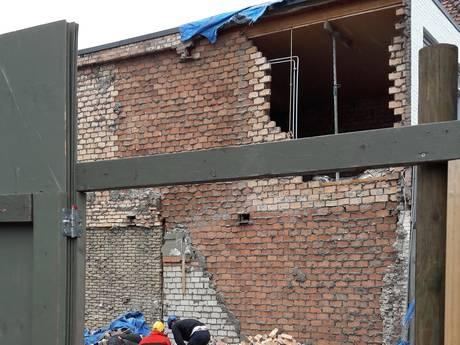 Pand in centrum Veenendaal dreigt in te storten en moet meteen afgebroken worden