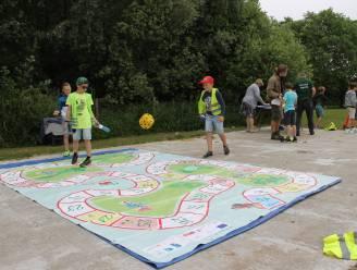 Kinderen Talententuin leren via spel over lokale en duurzame voeding