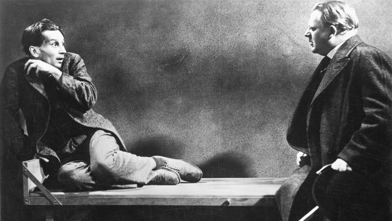 Scène uit Das Testament des Dr. Mabuse Beeld