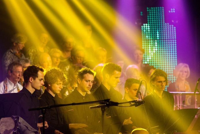 Tijdens 'Musique Spectaculaire' kan iedere geleding van muziekvereniging De Poort van Brabant schitteren in een programma vol variatie (archieffoto).