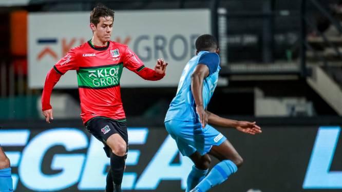 """Mathias De Wolf (ex-Club Brugge) groeit na rugoperatie stilaan naar beste vorm bij NEC Nijmegen: """"Klaar om mijn kans te grijpen"""""""