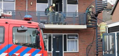 Brand in woning in Veenendaal: oven vat vlam