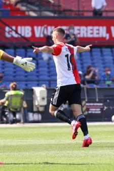 Feyenoord wint makkelijk, domper voor Van Beek