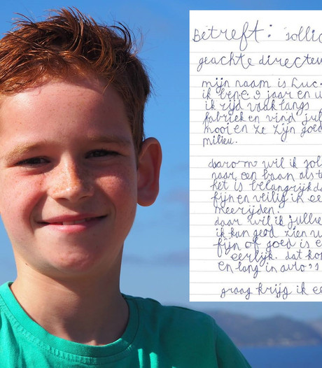 Droom komt uit voor 9-jarige Luc uit Tilburg na sollicitatie bij Tesla