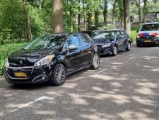 Twee gewonden en vier kapotte auto's bij kettingbotsing in Winterswijk