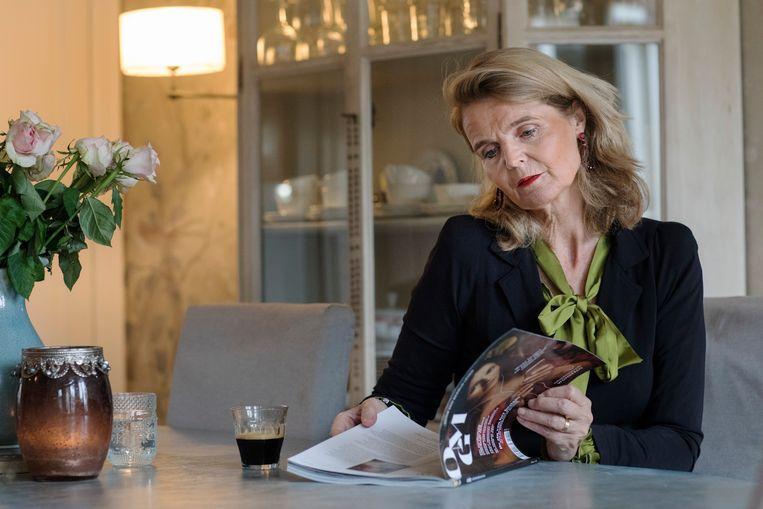 Marina de Kort-de Wolde: 'Het is een blad voor een beschaafd, weldenkend, ontwikkeld publiek. Niet per se hoog opgeleid,  wel bereid om na te denken. Geen lawaaimeningen.' Beeld Inge Van Mill