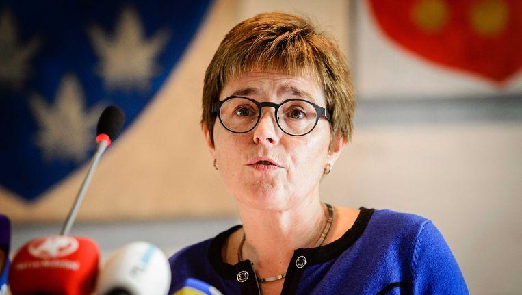 Burgemeester Miranda de Vries van Geldermalsen. Beeld anp