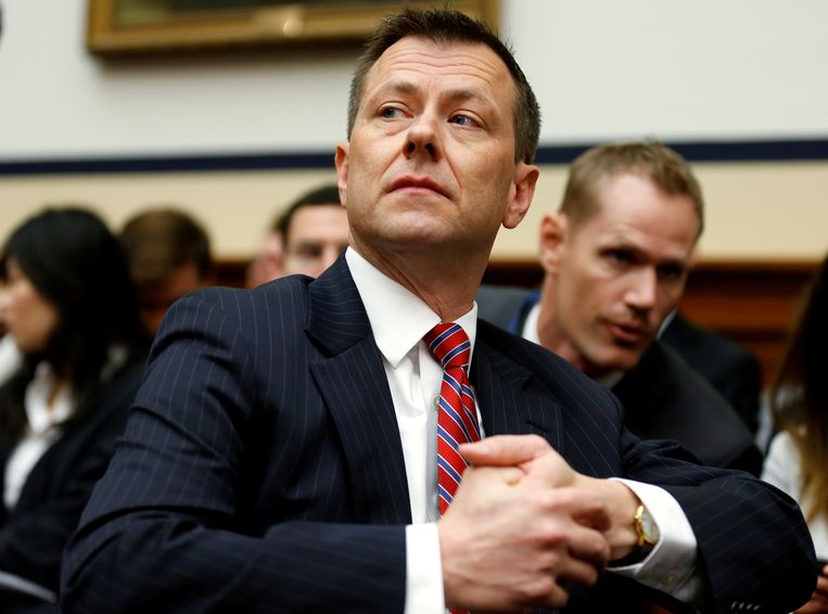 Voormalig FBI-medewerker Peter Strzok werd onlangs ook ontslagen. Beeld REUTERS