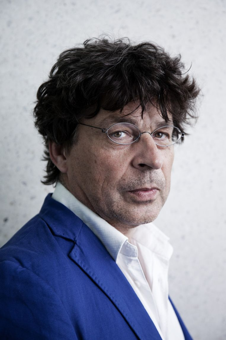 Frank Albers. Beeld ECI Literatuurprijs