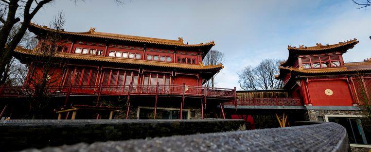 De pagode voor onze pandagoden. Beeld anp