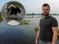 Boer Jacob na dijkdoorbraak in Hattem: 'We hebben alles op alles gezet. Op zoek naar het vee'